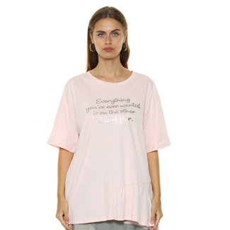 outlet Shirt rose Sophia Curvy
