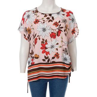 outlet Shirt gebloemd 621 816 Via Appia Due