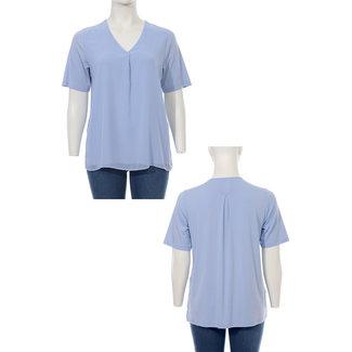 Frapp Shirt L.blauw 1102 031 Frapp