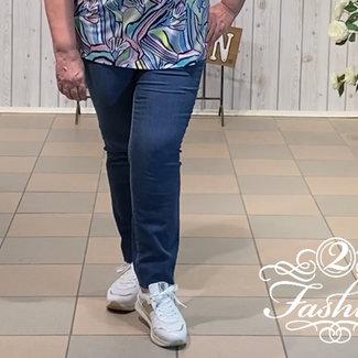 Stark Broek jeans mid denim 4915 S-Janna Stark