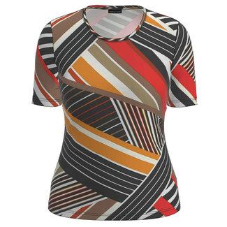 Barbara Lebek Shirt print br/oranje/rood 80980012 Barbara Lebek