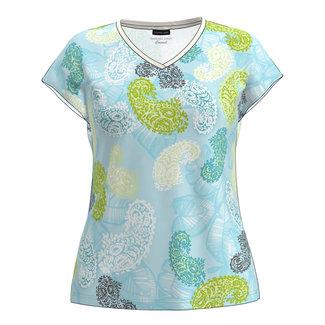 Barbara Lebek Shirt V-hals print 780600012 Barbara Lebek