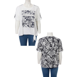 Via Appia Due Shirt met print 821 461 Via Appia Due