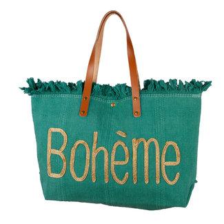 Handtas Boheme groen