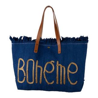 Handtas Boheme denim blauw