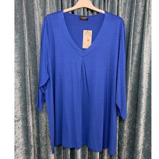outlet Shirt blauw 619021 Via Appia Due