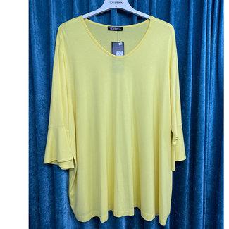 outlet Shirt Geel 3972 Verpass