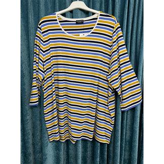 outlet Shirt gestreept 610020863 Via Appia Due