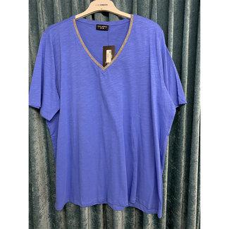 outlet Shirt blauw 610030 Via Appia Due