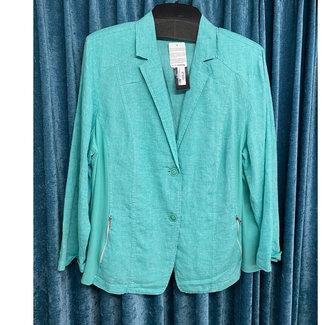 outlet Vest Turquoise 391135 Dorisstreich