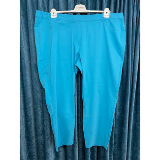 outlet 7/8 Broek turquoise 820683 Via Appia Due