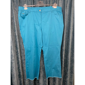outlet Broek 7/8 Turquoise 420036-21144 Samoon