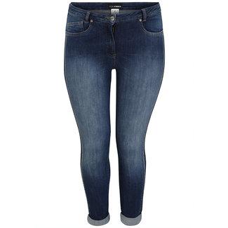 Dorisstreich Broek jeans met strass 887195 Dorisstreich