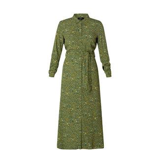 Yesta Kleed groen Veronique A002062 Yesta