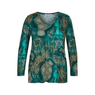 KJBrand Shirt print groen KJBrand 15743