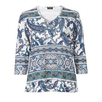 Via Appia Due Shirt print Via Appia Due 851206