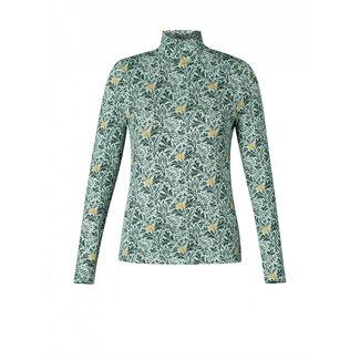 Yest Shirt Yest Mint groen print Ann 0002317