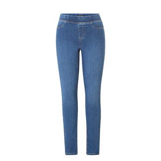 Base Level by Yest Broek jeans Base Level mid blue Tess 6000008