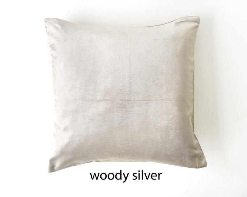 Woody Glanzend Fluwelen Kussen
