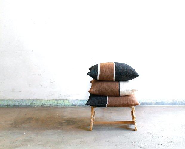 Yoko 3 striped cushion