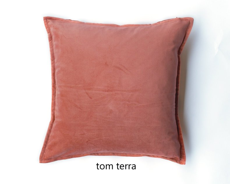 Tom fluwelen kussen serie 1