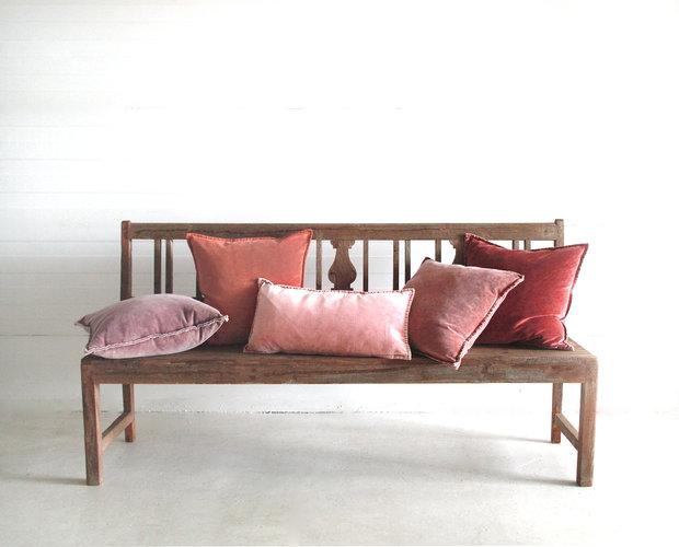 Pip Stonewashed Velvet Cushion  series 2