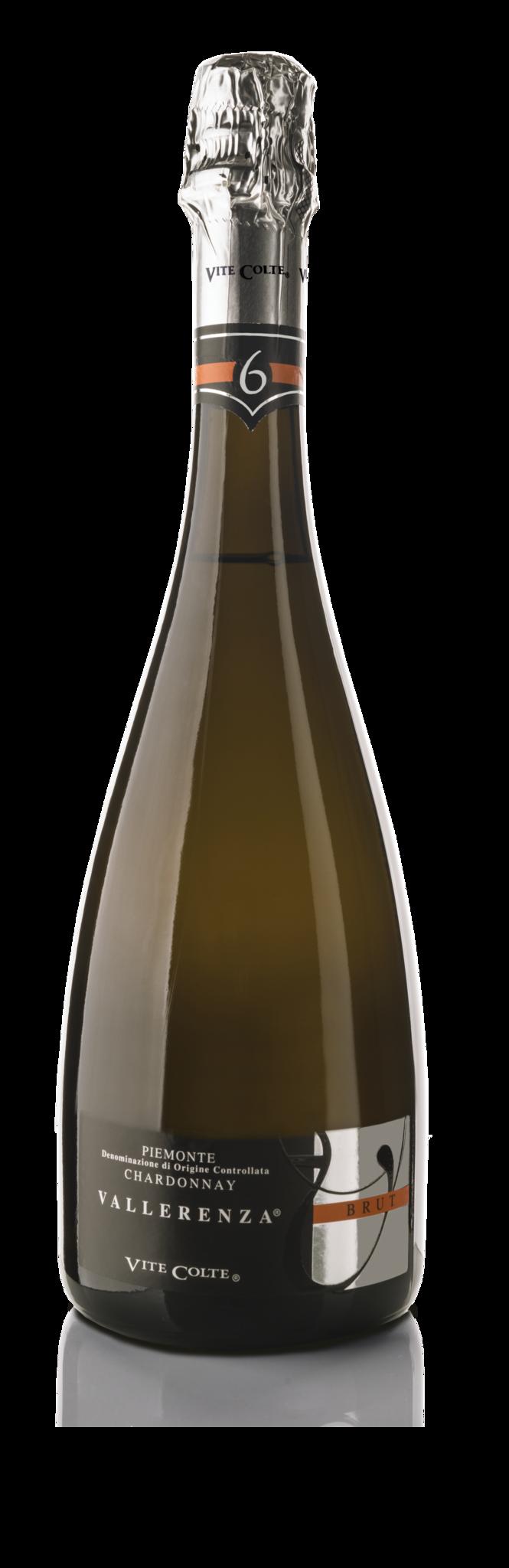 """Vite Colte Piemonte Chardonnay """"Vallerenza"""" Brut DOC"""