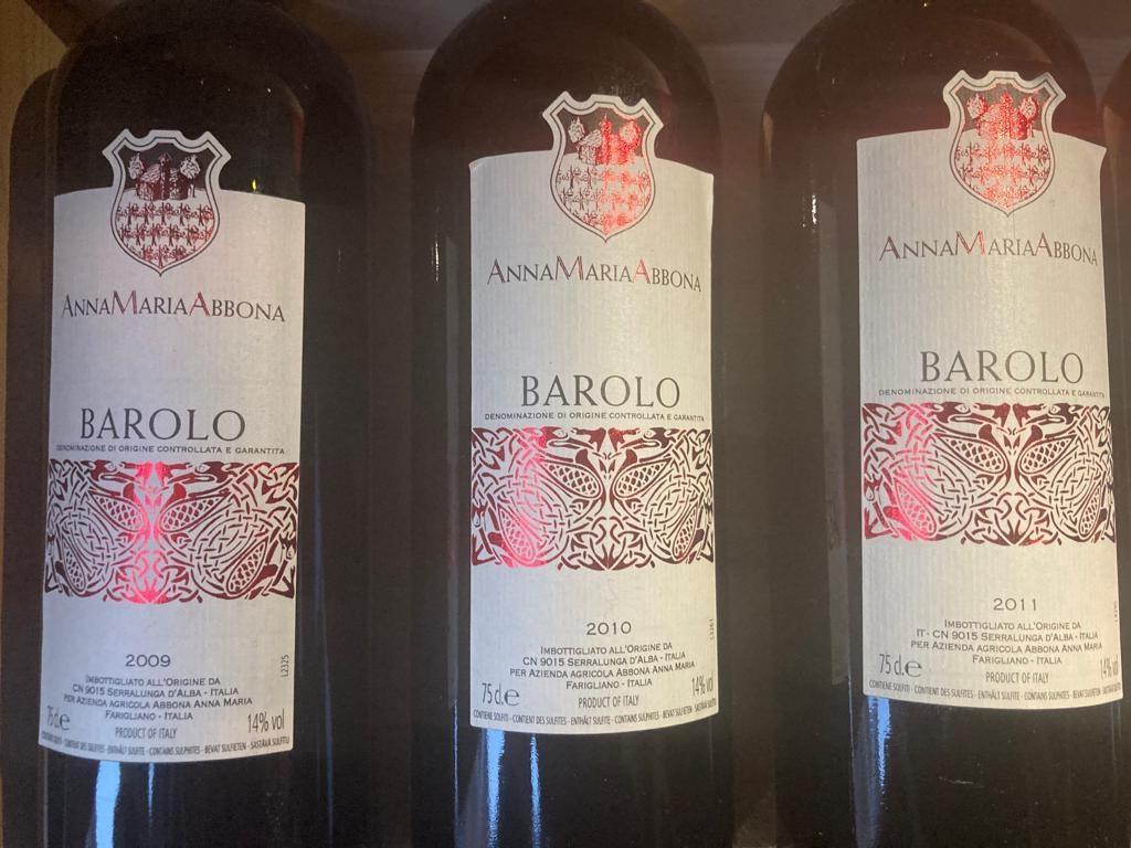 Anna Maria Abbona Gift box verticale Barolo 2009 - 2014