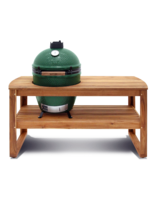 Big Green Egg Acacia Table  Excluding Casters