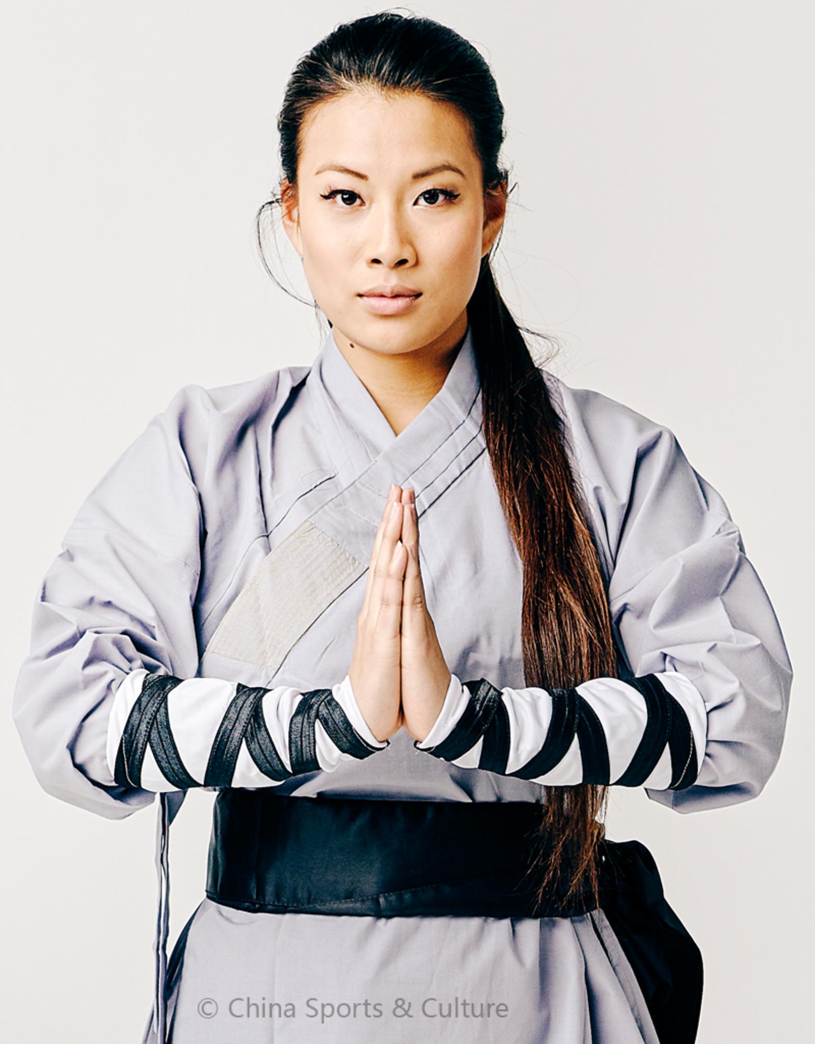 Shaolin Monk Uniform - Grijs