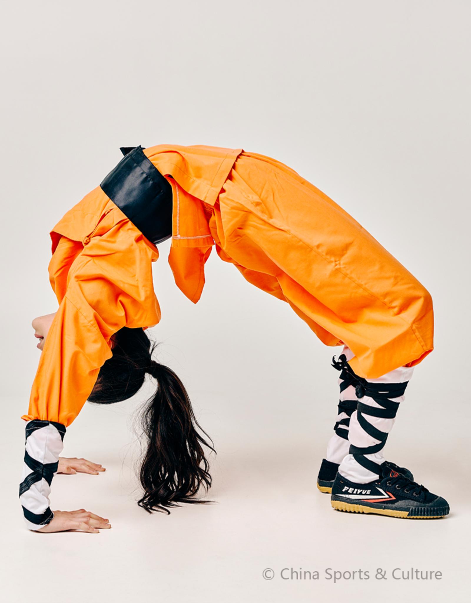 Shaolin Monk Uniform - Oranje