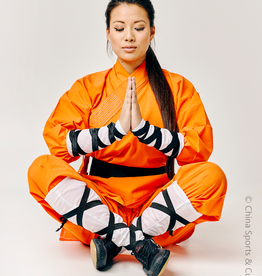 Shaolin Monk Uniform - Oranje