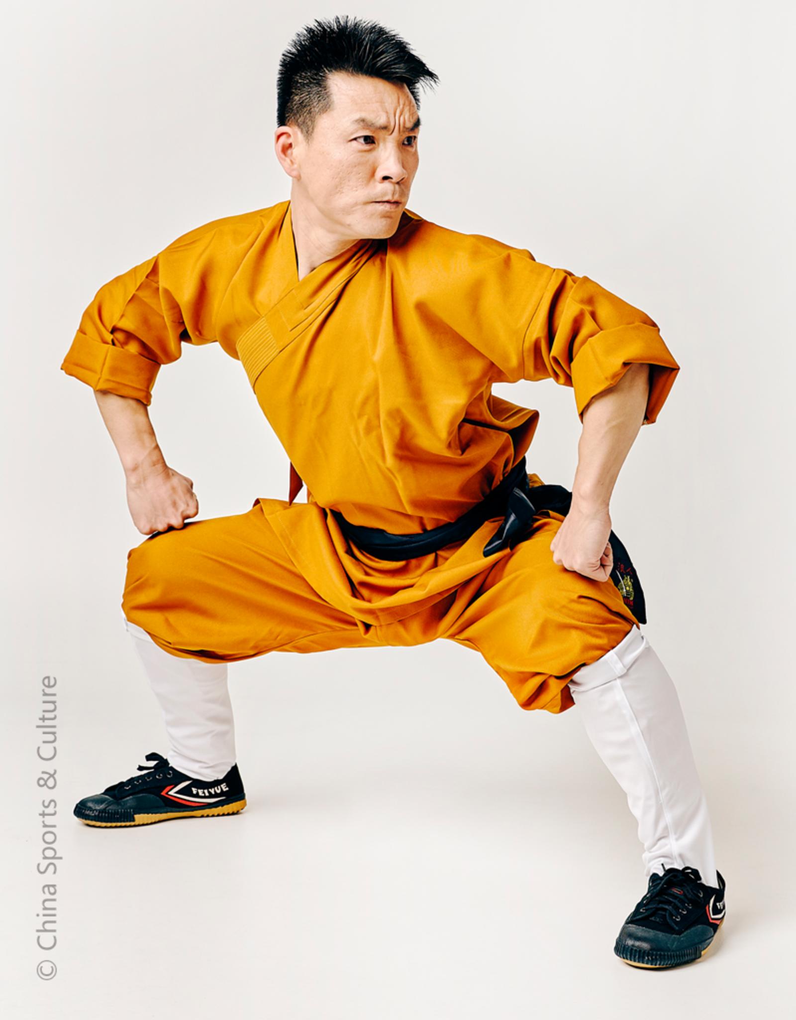 Shaolin Kung Fu Luohan Sokken - Wit - Maat S