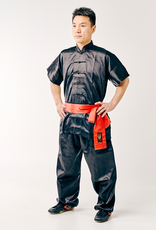 Kungfu Uniform - Zwart Satijnlook