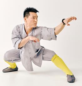 Shaolin Traditional Uniform - Grijs
