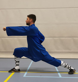 Shaolin Monk Uniform - Blauw