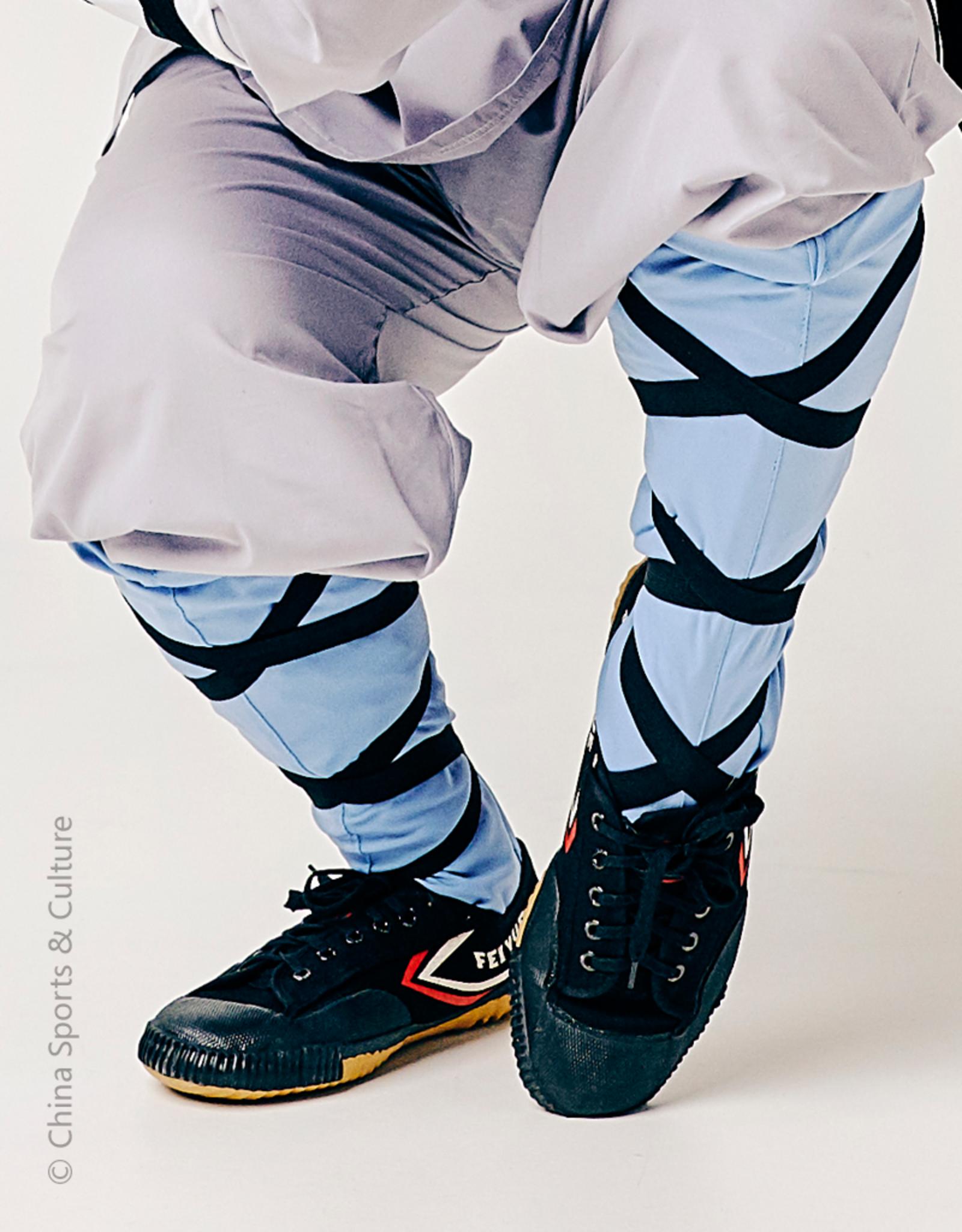 Shaolin Kung Fu Luohan Sokken - Blauw