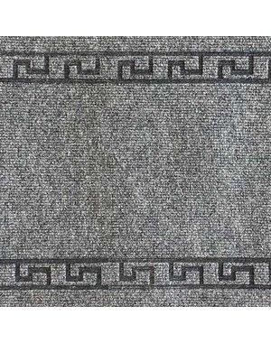 JYG Greece - tapis cuisine en  aiguilleté - gris - 50 cm