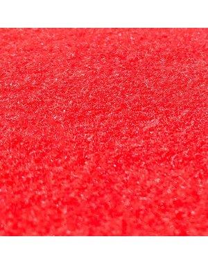 JYG Tapis rouge avec film protecteur sur longueur - 100 cm