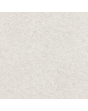 JYG Witte Loper met beschermfolie op lengte - 100 cm