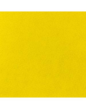 JYG Gele tapijtloper met beschermfolie op lengte - 100 cm
