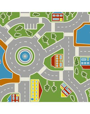 JYG Vinystreet - Spiel teppich aus vinyl - Strassenteppich