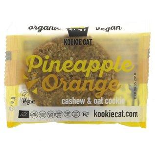 Kookie Cat Kookie Cat Organic Pineapple & Orange Cookie 50g