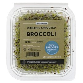 Sky Sprouts Sky Sprouts Organic Broccoli Sprouts 100g