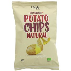 Trafo Trafo Organic Salted Crisps 40g