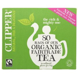 Clipper Clipper Organic Fair Trade Everyday Tea 80 bags