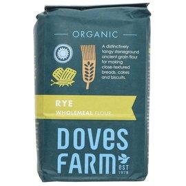 Doves Farm Doves Farm Organic Rye Wholemeal Flour 1kg