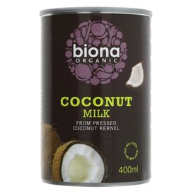 Biona Biona Organic Coconut Milk 400ml