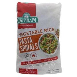 Orgran Orgran Vegetable Rice Pasta Spirals 250g