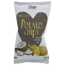Trafo Trafo Organic Lightly Salted Potato Chips Baked in Coconut Oil 100g